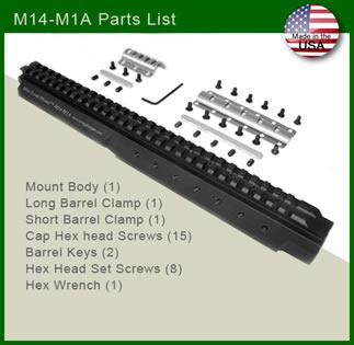 M24-M1A Parts List