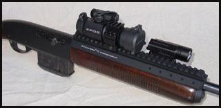 Amega mounts remington 742 7600 mount mini scout mount vii sciox Choice Image